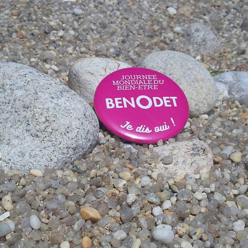 CRÉATION BADGE • Journée Mondiale du Bien-Être à Bénodet