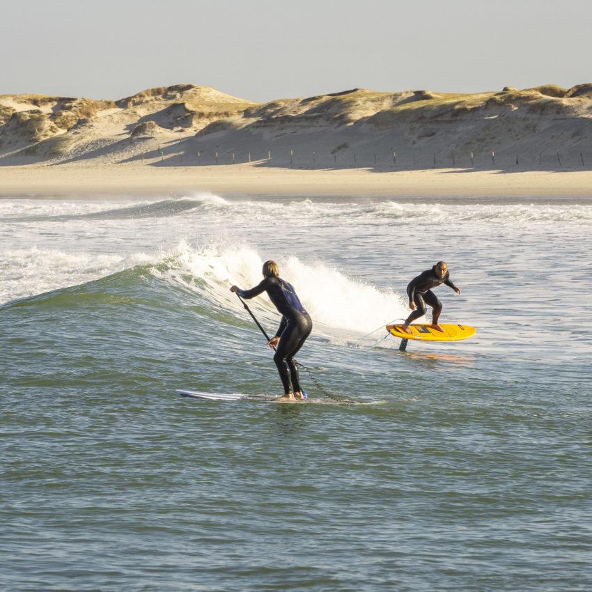 credit-Magali-Nouguier-Surf Sup Foil La Torche Yann Quilfen & François Gabart