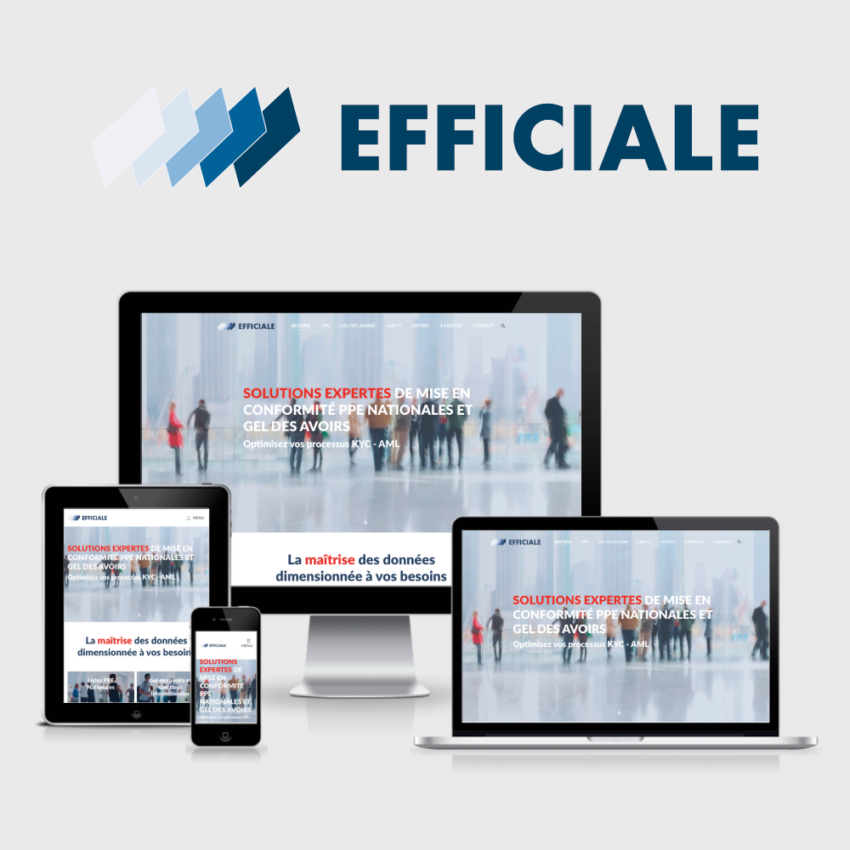 Agence-communication-TIKIO-Conception-Creation-developpement-webdesign-site-web-internet-EFFICIALE-startup-regtech-ppe-finance