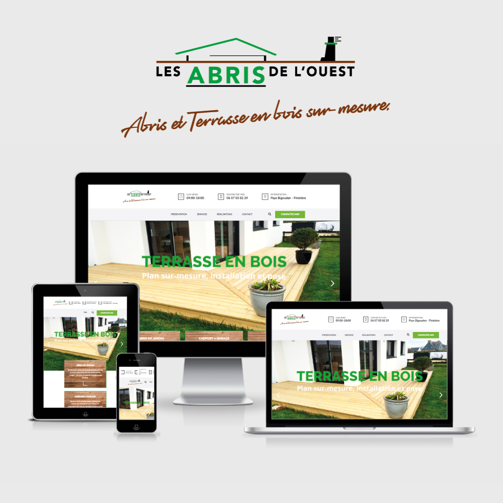 Agence-communication-TIKIO-Conception-Creation-developpement-webdesign-site-web-internet-Les-Abris-de-louest-abris-carport-terrasse-bois-sur-mesure-pays-bigouden-finistere